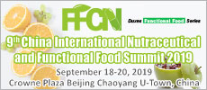 9th China International Nutraceutical and Functional Food Summit 2019