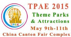 China Guangzhou International Theme Parks & Attractions Industry Exhibition (TPAE2015)