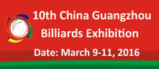 China Guangzhou Billiards Exhibition
